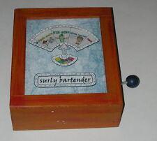 "Vintage Ken Gash HLD Productions ""Surly Bartender"" Handmade Machine Game /Art"