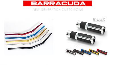Barracuda Manubrio 28/22 + Manopole Blux Per Moto Morini