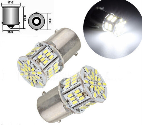 1X 1156 BA15S P21W 3014 54 SMD LED Car Tail Backup Light Bulb White DC 12-24V