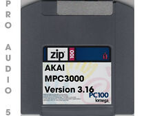 Akai MPC3000  Operating System Version 3.16 ZIP DISK + FREE SAMPLES