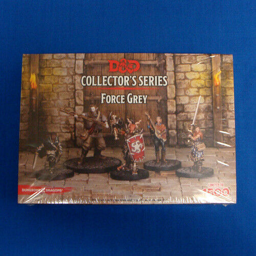 Dungeons & Dragons Collector Series Force Grey Miniatures