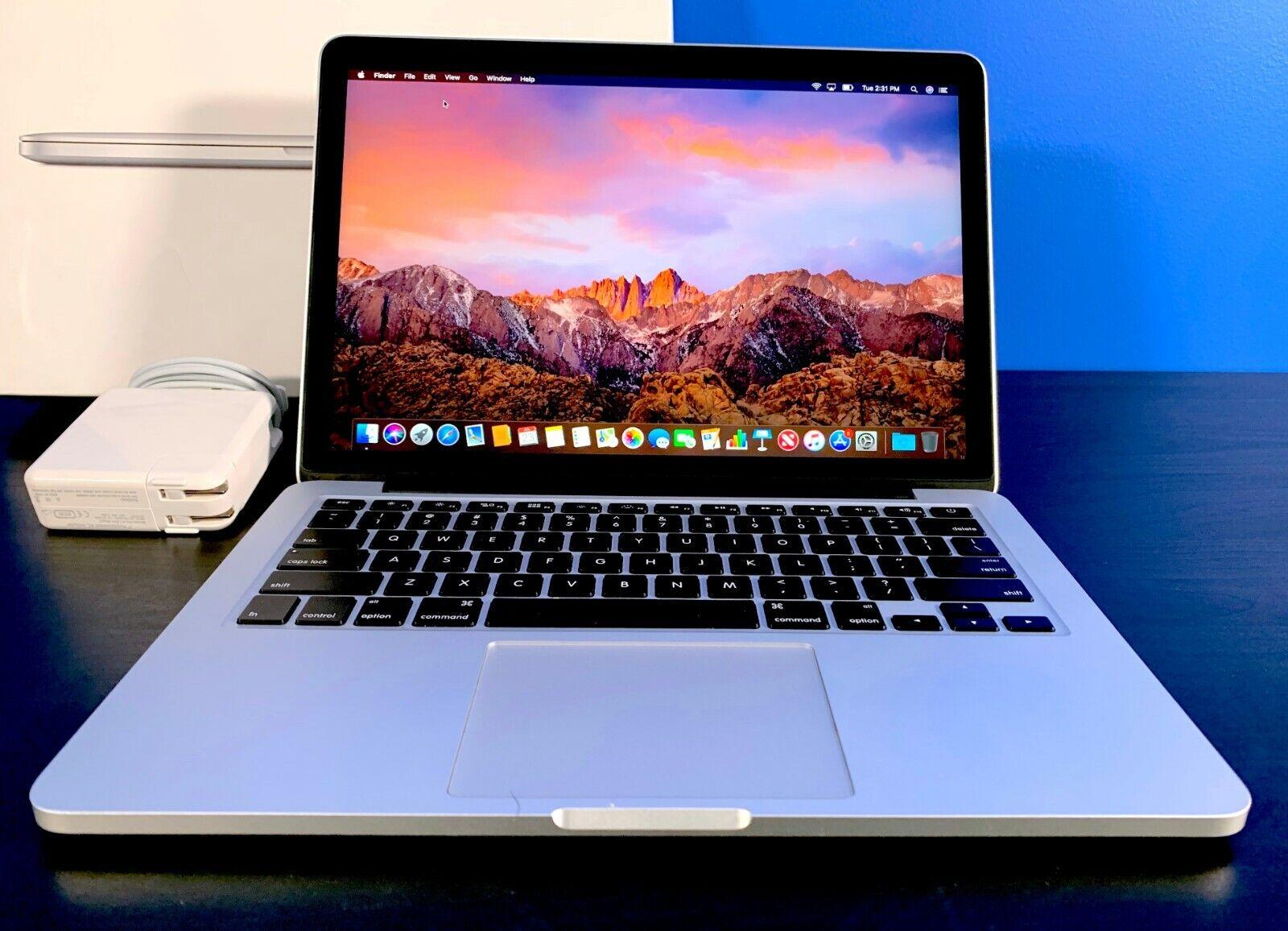 Apple MacBook Pro 13 RETINA / OSX-2019 / 3.1GHZ / 256GB SSD / 2 YEAR WARRANTY. Buy it now for 699.00