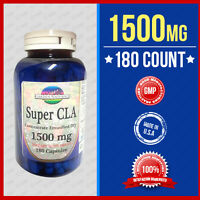 Super Cla 1500mg 180 Capsules Herb- Fast Weight Loss/ Conjugated Linoleic Acid