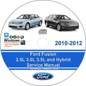 Ford Fusion 25l 30l 35l And Hybrid 20102012 Factory Workshop. Is Loading Fordfusion25l30l35l. Wiring. 2010 Fusion 2 5l Engine Diagram At Scoala.co