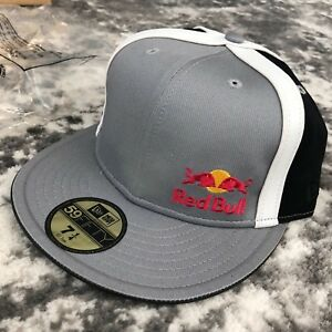 Image is loading RED-BULL-ATHLETE-ONLY-HAT-VERY-RARE-FITTED- 27f20cf7c47