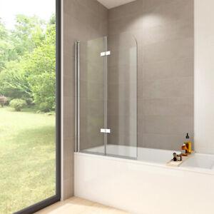 Duschabtrennung Badewannenaufsatz Badewannen Faltwand Duschwand Badewanne Glas Ebay
