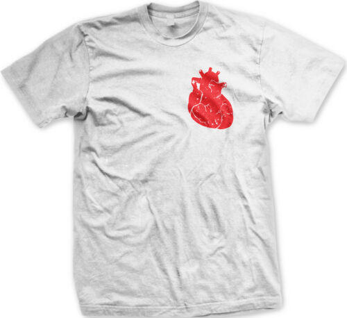 Realistic Heart Beating Blood Be Mine Valentine/'s Love Sweet Men/'s New T-shirt