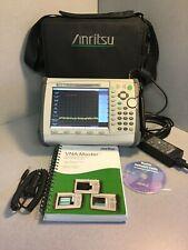 Anritsu Ms2034a Vna Master Spectrum Analyzer Vna 2mhz 4ghz Sa 9khz 4ghz