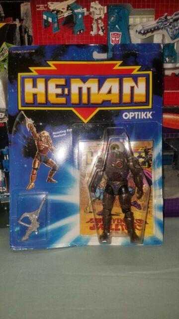 Mattel He-Man New Adventures OPTIKK 1989 Masters of Universe Action Figure MOC