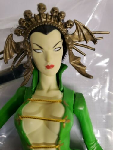 Vintage Dark Alliance premiers coups Jade Chaos Comics ART ASYLUM ACTION FIGURE NEW