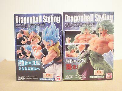 Dragon Ball STYLING Super Saiyan God Gogeta /& Saiyan Broly Full Power Bandai JP*