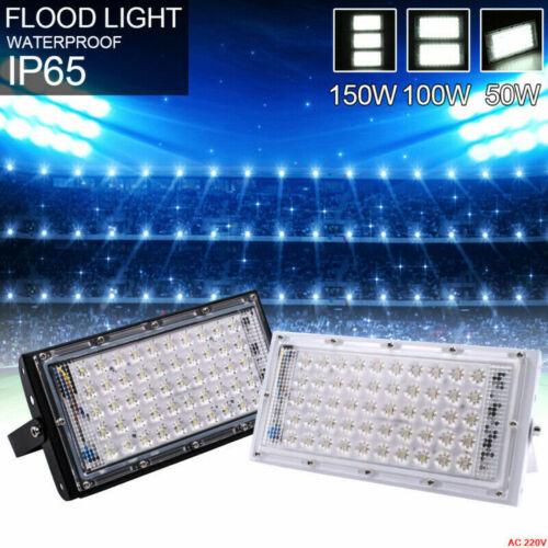 LED Flood Light Outdoor Waterproof 50W Yard Football Garden Lamp 12V 110V 220V