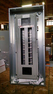 siemens 250amp 42ct 480 277 type bqd main circuit breaker panel