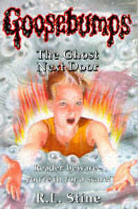 The-Ghost-Next-Door-Goosebumps-Stine-R-L-Very-Good-Book