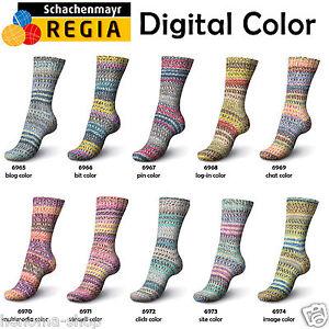 150g-6-60-100g-Regia-034-Digital-Color-034-6-Fach-Sockenwolle-Schachenmayr