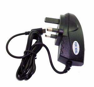 Nintendo-DS-Lite-NDSL-Chargeur-Adaptateur-UK-3-broches-royaume-uni-norme-ce-approuve