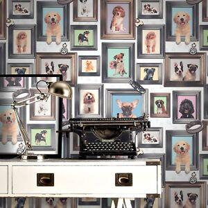 Puppy Love Wallpaper Rasch 272703 Puppies Girls Bedroom New Ebay