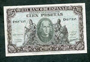 BILLETE-100-PESETAS-1940-SERIE-C-8067095-EBC