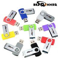 BESTRUNNER 1 2 4 8 16 32 GB USB 2,0 Stick Flash Memory Disk Drive Speicherstick