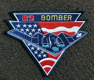 US AIR FORCE USAF B-2 STEALTH BOMBER PLANE military collectors  PATCH