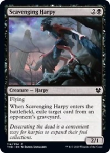 Theros Beyond Death Scavenging Harpy