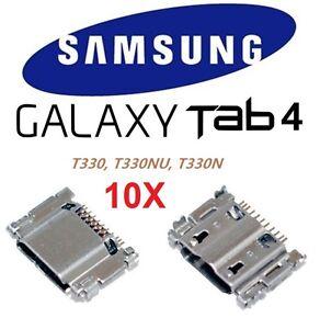 "10X Micro USB Charging Port Connector Samsung Galaxy Tab 4 8"" T330 T330NU T330N"