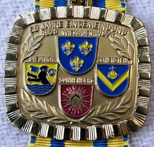 TAUNUS Volksmarsch Wiesbaden 1976 -50 JAHRE EINGEMEINDUNG, BIEBRICH, SCHIERSTEIN