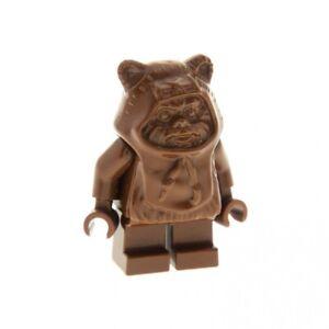 1x-Lego-Figur-Star-Wars-Ewok-Wicket-Torso-braun-7139-41882-973c13-sw050