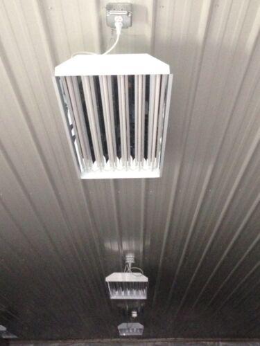 6-Lamp LED Ready High Bay Light Fixtures T5HO High Output Lighting