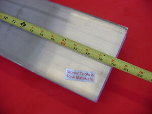 "3/8"" X 6"" ALUMINUM 6061 FLAT BAR 20"" long .375"" SOLID PLATE Mill Stock"