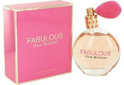 BNIB Isaac Mizrahi Fabulous Eau de Parfum, Sexy 1.7 Perfume, SEALED