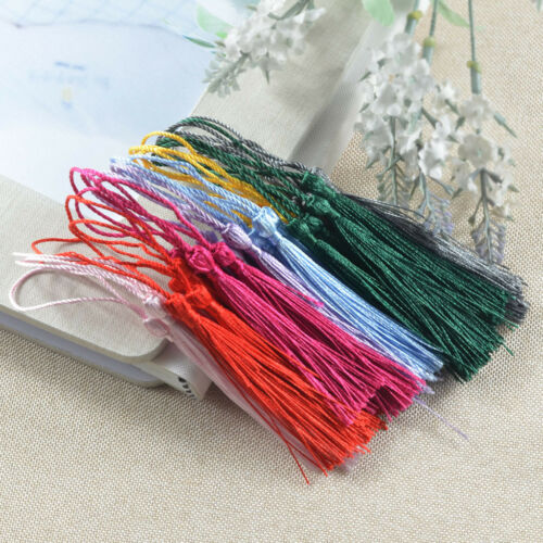 Prettyia 30 Pieces Bookmark Chinese Knot Tassels for Art and Craft Project