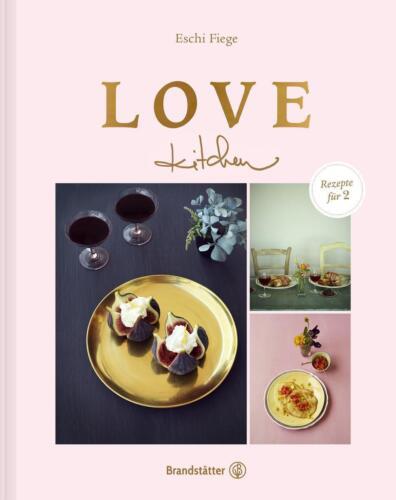 1 von 1 - Love kitchen - Rezepte für 2 - Eschi Fiege - Gebundene Ausgabe - neu - Geschenk