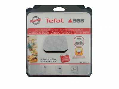 Aktivkohle-Luftfilter Ersatzfilter passend für Tefal Compact Quadra 3122