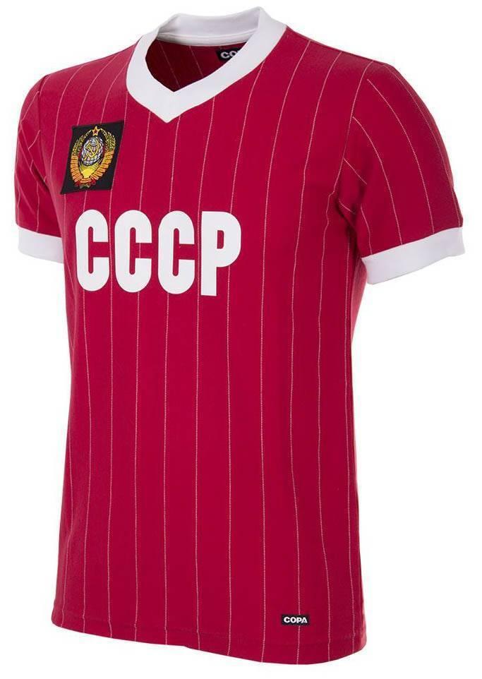 Copa CCCP CCCP CCCP Russland Retro Trikot WM 1982 rot NEU 94180  | Billig  cbb422