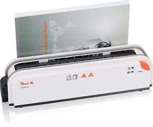 BINDER thermische PEACH THERMO binder Ordnern bis 300 Blätter A4 GLS 24 48h | Ich kann es nicht ablegen  | Hohe Qualität  | Bekannt für seine schöne Qualität