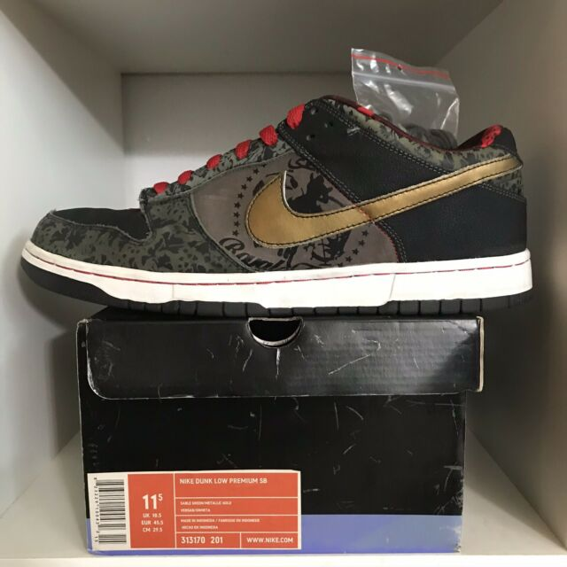MISMATCHED 2006 Nike Dunk Low Premium SB SBTG Size 11.5/10.5 US Mens