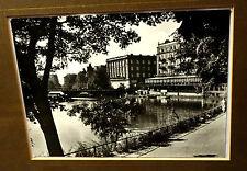 Fotografie,Königsberg,vor 1940,2 St.,Schloßhof,Schloßteich m.Pelikan Klause