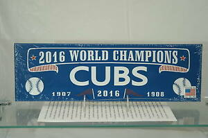 Details About Chicago Cubs Champs Wooden Signmade Usa Newsealedfree Shipping In The Us
