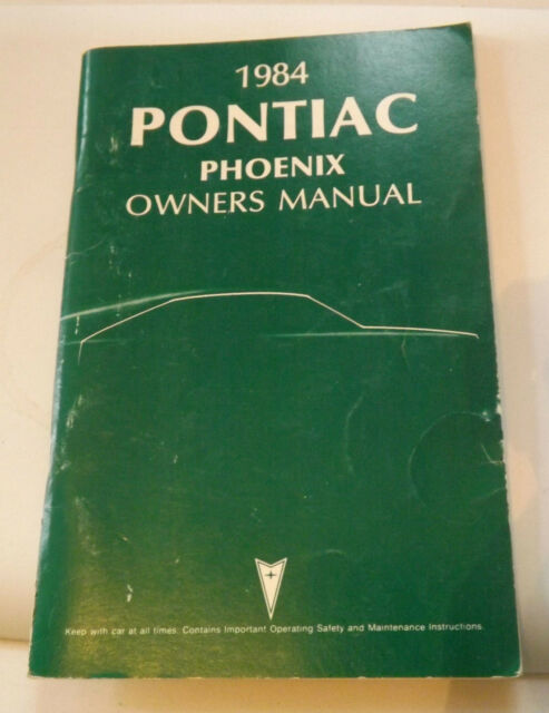 For 1984 Manual Guide