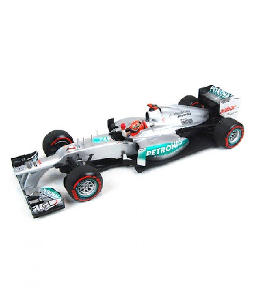Nouvelle échelle 1 18 Mercedes AMG Petronas W03 M. Schumacher 2012 Grand Prix de Monaco Japon