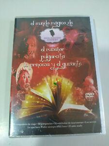 Mundo-Magico-Cuentos-Hans-Christian-Andersen-Pulgarcita-Ruiseno-3-x-DVD-Nuevo
