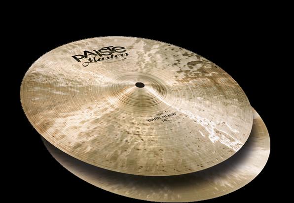 Paiste Masters Dark Hi Hat Cymbals 15