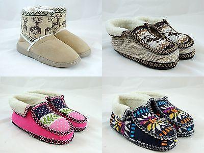 Women's Unisex Warm Winter Comfortable Booties House Slippers Shoe