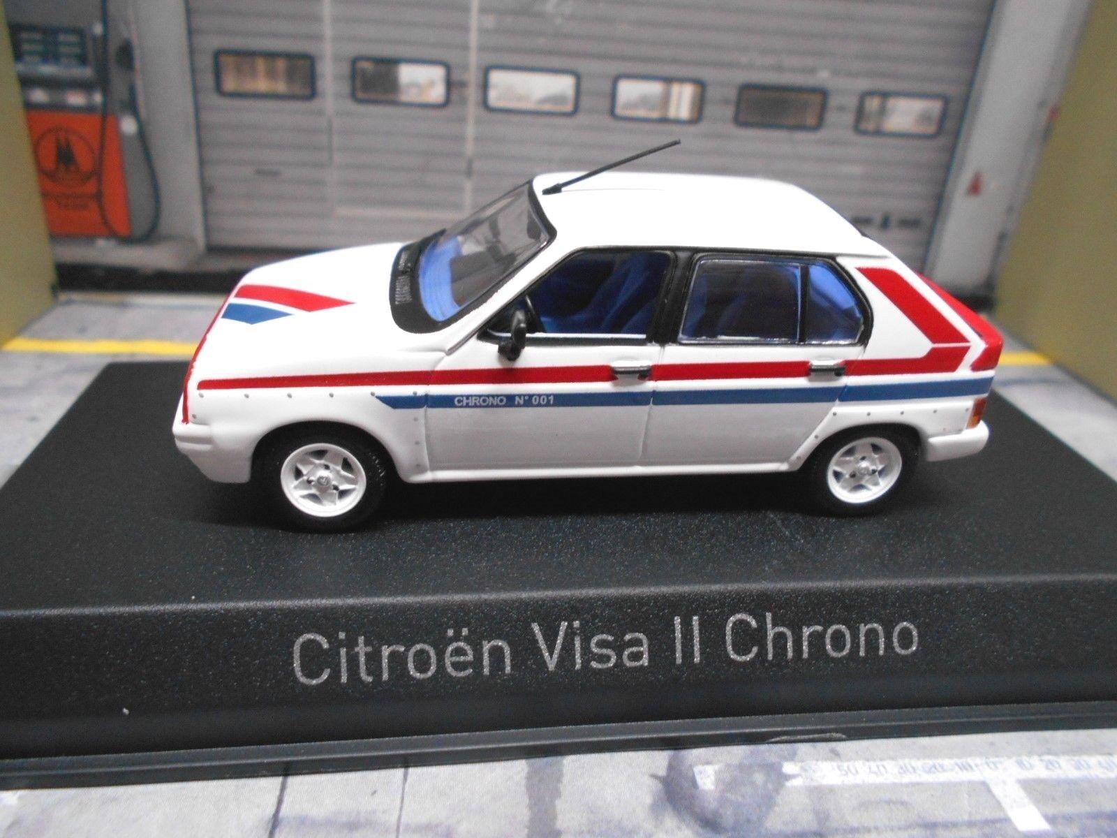 CITROEN VISA II 2 chrono 4x4 1982 Blanc blanc NOREV 1 43
