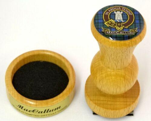 THE SCOTMARK COLLECTION SCOTTISH CLAN STAMP