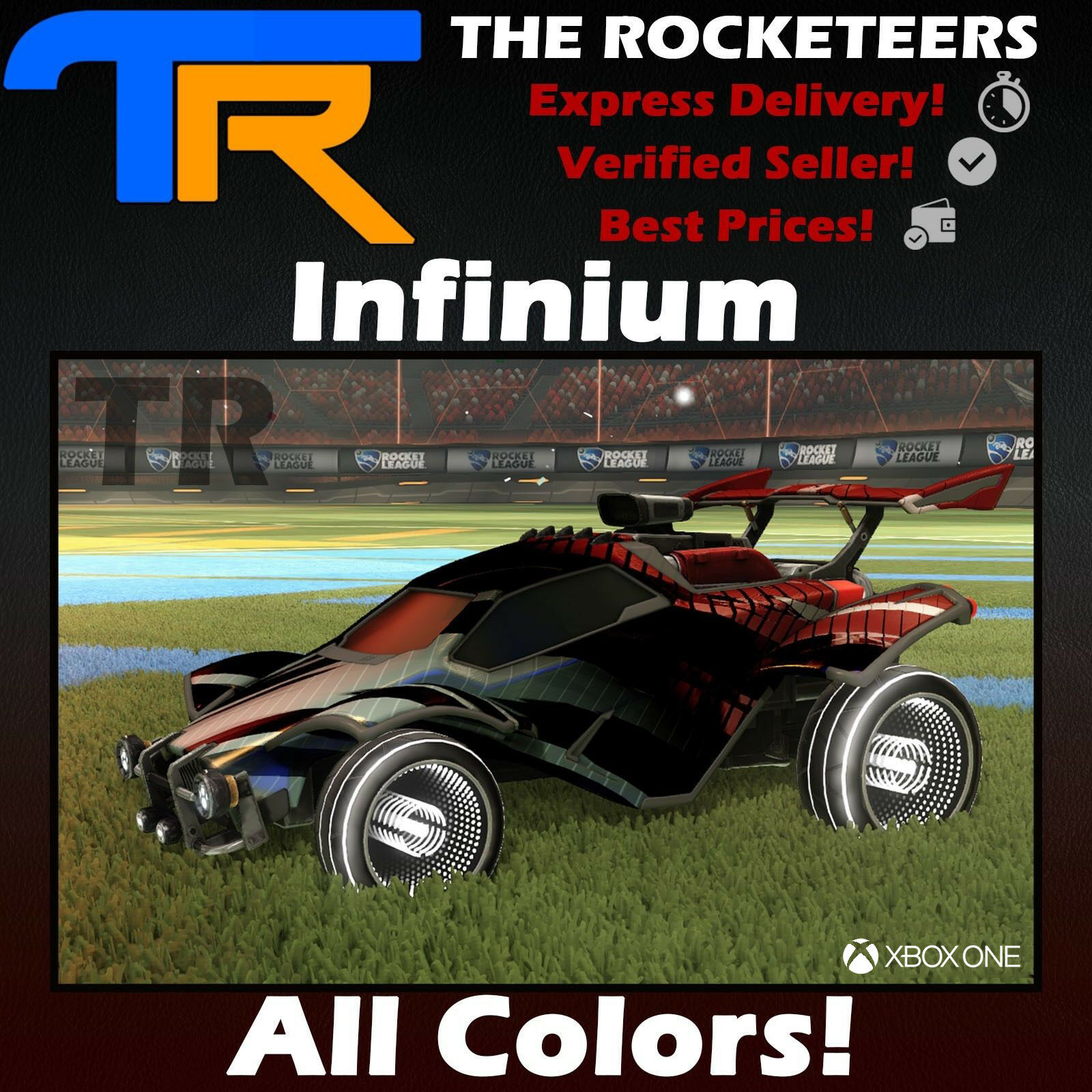 [XBOX] Rocket League Every painted Infinium Victory Crate Exotic Wheels