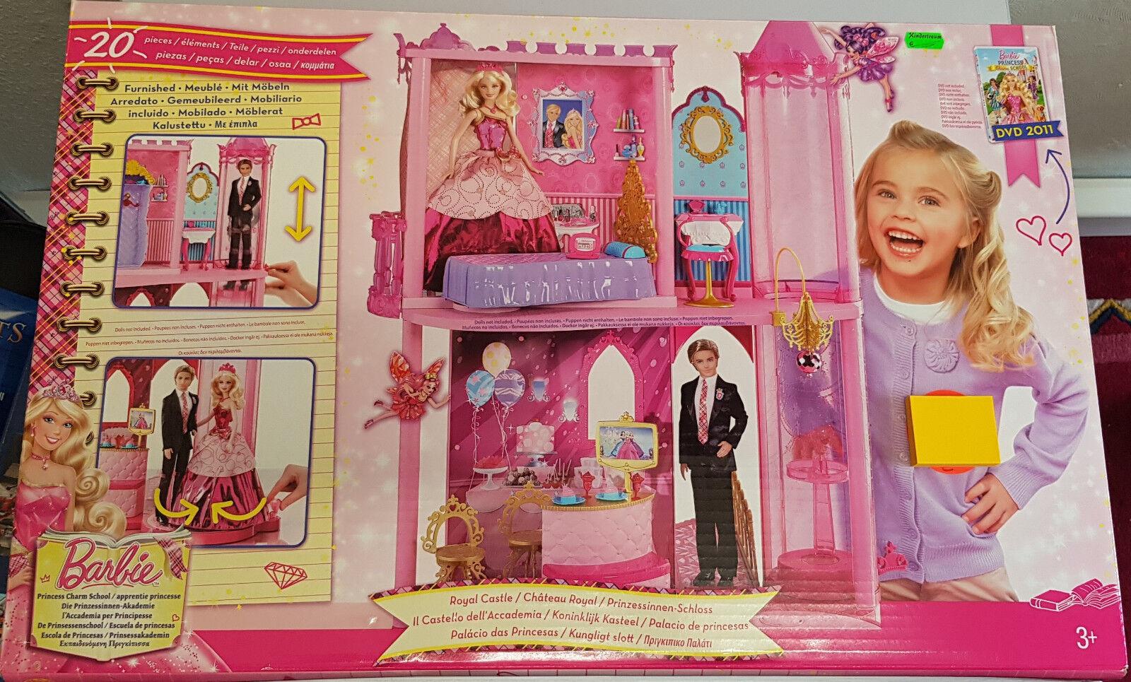 Mattel W5538 Barbie - Prinzessinen Schloss mit Möbeln Neu OVP OVP OVP da296e