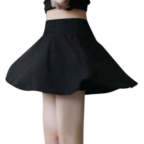 Women Quick Dry Ruffle Workout Short Active Tennis Running Skirt Built in Shorts