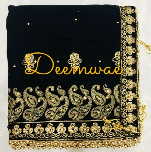 Scarf Indian Velvet Shawl